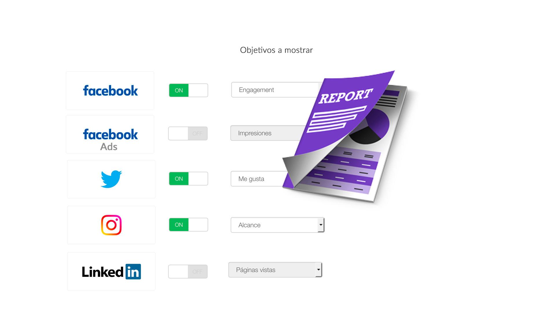 informes redes sociales